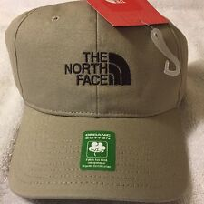 The North Face Adjustable Hat Cap Beige/Brown NWT Organic Cotton
