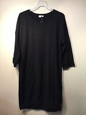 NWT Gap Relaxed midi sweater dress True Black SIZE S    #358748