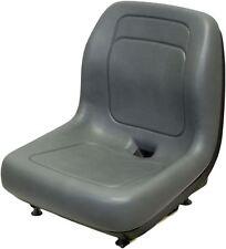 Gehl Gray Skid Steer Bucket Seat Fits 2500 2600 3000 4640 4840 5640 6635 etc