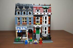 LEGO 10218 CREATOR PET SHOP MODULAR BUILDING - Pre owned Retired Set