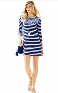 NWOT Lilly Pulitzer Bay Dress Size Medium M 100% Cotton