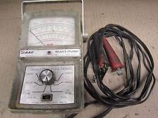 R A C maxi tune analyzer Amp Volt Rpm Dwell diagnostic tool equipment