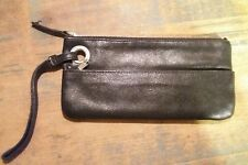 Old Navy Black Wallet with zipper compartment Wristlet