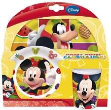 MICKEY MOUSE CLUBHOUSE 3-Piece Set cena | Tumbler, ciotola & PIASTRA | Disney