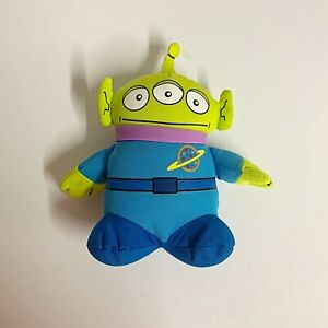 """Disney Toy Story Alien Plush Soft Toy 11"""" Pizza Planet Green Very GC FAST POST"""
