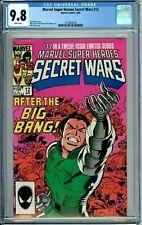 MARVEL SUPER HEROES SECRET WARS 12 CGC 9.8 WP New Non-Circulated CGC Case MARVEL
