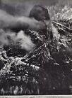 1959 Vintage ANSEL ADAMS Sentinel Snow Storm Yosemite Landscape Photo Art 12X16