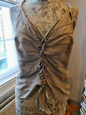Giorgio Armani Summer Silk Tied Top Size IT 40/UK 8-10