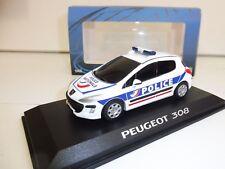 PEUGEOT 308 Police 1/43 Provence Moulage NEUF Boite