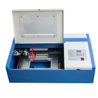 【USA】CO2 Laser Engraving Cutting Cutter Machine Engraver USB Port High Precise
