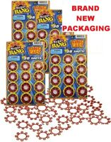 HIGH QUALITY SUPER BANG 8 SHOT RING CAPS - 4 PACKS OF 96 = 384 TOTAL BRAND NEW!!