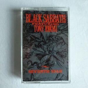 Black Sabbath Cassette Seventh Star