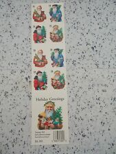 #3537 1999 HOLIDAY GREETINGS Mint MNH Booklet/Pane 20 34 Cent US Postage Stamps