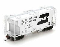 Athearn Burlington Northern BN 430144 / 104 Covered Hopper Train Car (HO Scale)