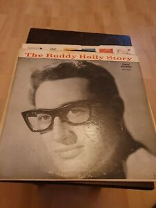 """Buddy Holly 12"""" Vinyl Album The Buddy Holly Story 1959 Coral Label"""