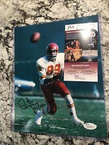 Otis Taylor Signed Autograph Auto 8x10 Chiefs JSA