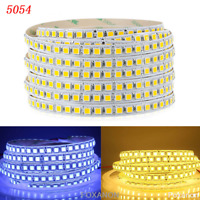 5M LED Flexible Strip Light 3528 2835 3014 5050 5630 7020 RGB Warm White DC12V