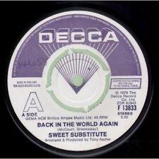 Sweet Pop 45 RPM Speed Vinyl Records