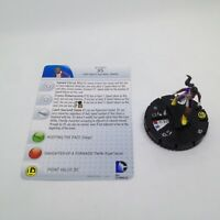 Heroclix The Flash set XS #004 Common figure w/card!