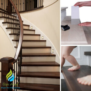 Non Slip Stair Treads Discreet Clear Anti Skid Safety Tape Strong Adhesive Grip