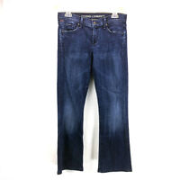 Womens 28 Citizens Of Humanity Kelly Jeans Low Rise Bootcut Dark Wash Blue Denim