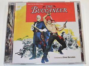 Elmer Bernstein THE BUCCANEER Yul Brynner Charlton Heston Soundtrack CD (NM)