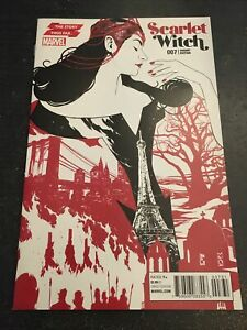 """Scarlet Witch#7 Incredible Condition 9.4(2016)""""Variant"""""""