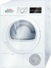 Bosch WTG86400 Series 6 Air Condensation Tumble Dryer Front Loader White 8 KG