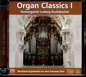 BACH, MOZART, VIERNE ua: ORGAN CLASSICS I – SA-CD m. LUDWIG RUCKDESCHEL / PASSAU
