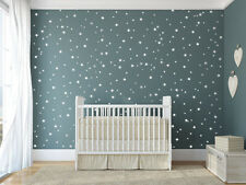 wall decal kids room Set of 270 Star Vinyl Baby Room Nursery Confetti Bed M1610