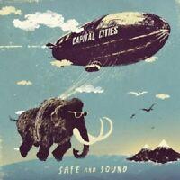 CAPITAL CITIES - SAFE AND SOUND  CD SINGLE  2 TRACKS INTERNATIONAL POP  NEU
