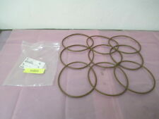 9 AMAT 3700-01921 O-ring, Seal, ID 6.475 CSD .210, Viton, 75 Duro, Brown, 413259