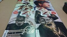 5 comics lot run Z Nation Photo Covers Issues 1 through 5 1st Print VF/NM+