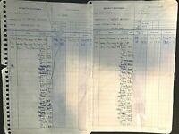 "BEATLES 1971 ORIG. LENNON & McCARTNEY ROYALTY STATEMENTS FOR ""ELEANOR RIGBY"""