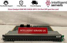 More details for cisco catalyst 6500 ws-x4624-sfp-e 24-port sfp port line card