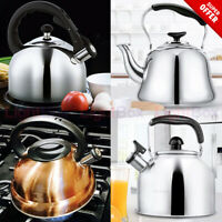 Kettle Tea Stainless Steel Whistling for Stovetop 2,3,4 Quart Teapot w/Sound NEW