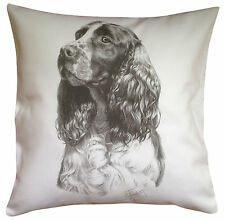 Springer Spaniel MS Breed of Dog Themed Cotton Cushion Cover - Perfect Gift
