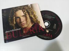 DAVID BISBAL BULERIA EDICION DE LUJO CD DIGIBOOK + VIDEOS EXTRA VALEMUSIC - 2004