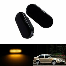 Fit VW Passat Polo Golf 3 4 SEAT Ibiza 6L LED Side Marker Repeater Lights Amber