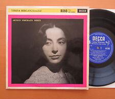 """BR 3064 Teresa Berganza considerando los artistas retrato Series-Decca 10"""" Vinilo Casi Nuevo/Excelente"""