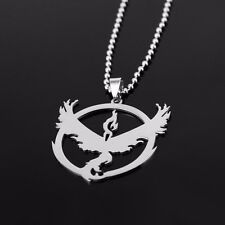 Pokemon Go Team Valor Laser Cut Stainless Steel 316L Necklace N119