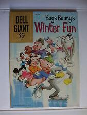 Dell Giant #28 F- Bugs Bunny Winter Fun
