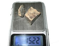 NWA Unclassified meteorite slice from the Sahara Desert 15.22g