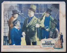 DAVID COPPERFIELD W.C. FIELDS FREDDIE BARTHOLOMEW 1935 LOBBY CARD