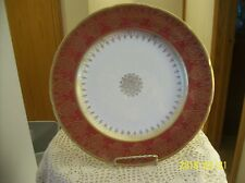 Sovereign Pottery Made In Canada British Empire Porcelain China Royal Red & Gold