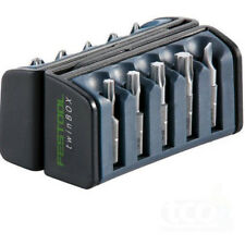 Festool Screwdriver Bit Set | 10 Piece | BB-PZ TwinBox PZ1/2 Pozidrive | 496934