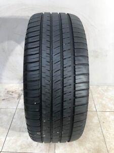 High Tread Used Tire (1) 255/45R20 Michelin Pilot Sport AS 3 Plus.