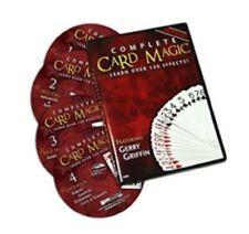 Magic Maker Complete Card Magic 7 Volume Set 4 Dvd Course 120 Tricks