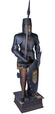Knight Wearable Medieval Crusador Full Suit of Armour Gothic Costume Armor Shied