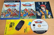 Dragon Quest: el Periplo del Rey Maldito para SONY PS2 PLAYSTATION 2 Completa
